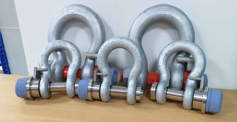 Wireless Load Shackles for a Boat Lift Application